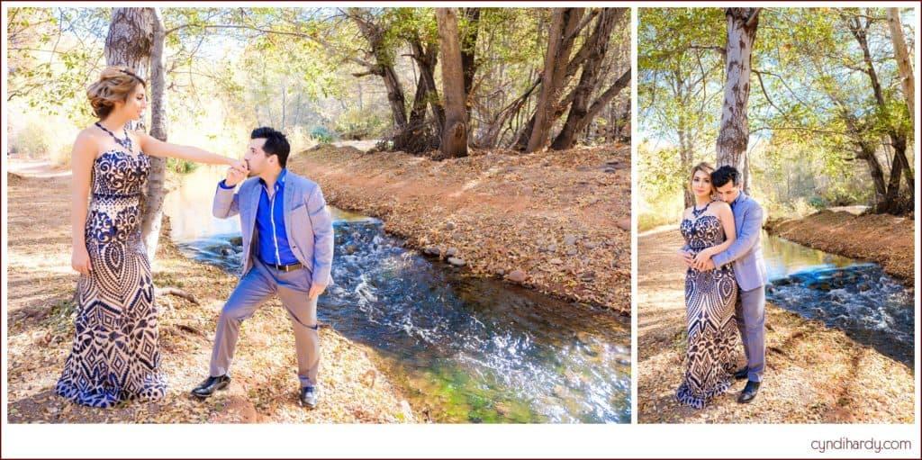 engagement, cyndi hardy photography, photography, photographer, sedona, arizona, red rock crossing, fashion, edgy