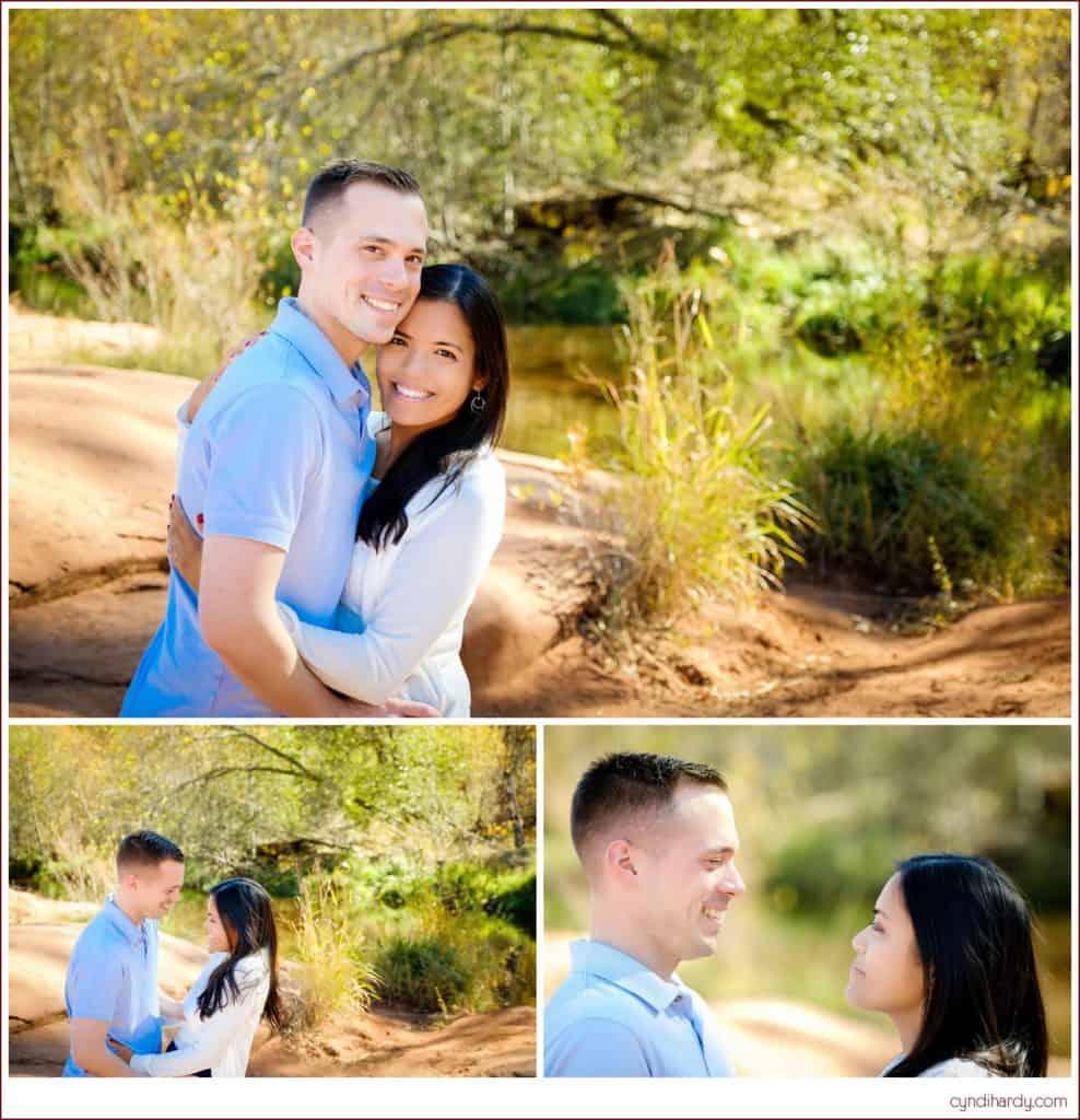 engagement, cyndi hardy photography, photography, photographer, sedona, arizona, red rock crossing, lifestyle