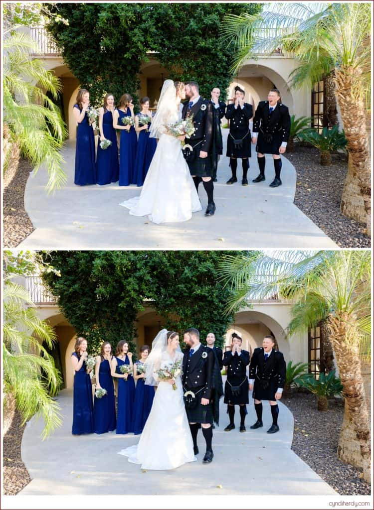 wedding, cyndi hardy photography, photography, photographer, photos, phoenix, arizona, secret garden event center, scottish, kilt