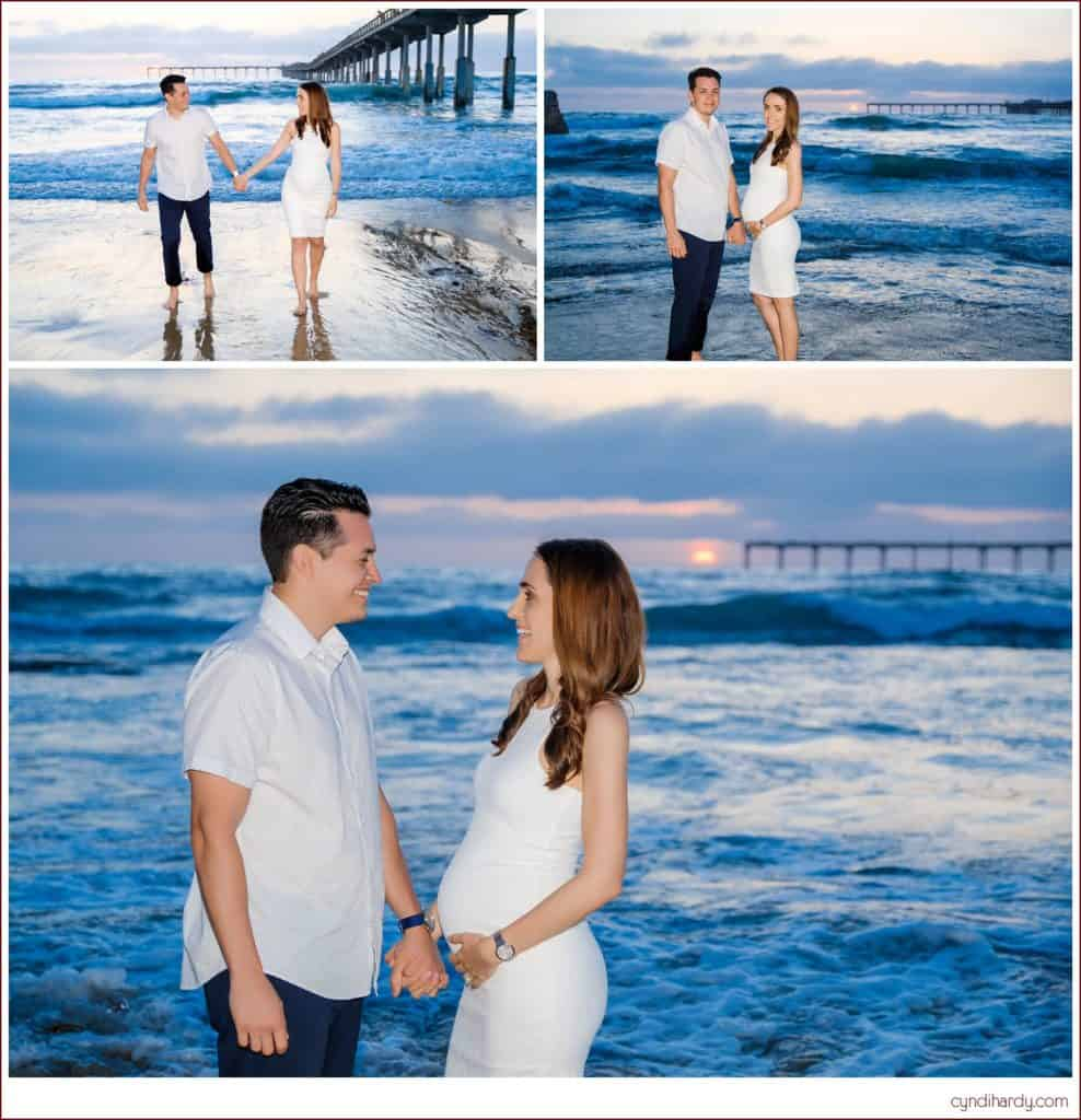 maternity, cyndi hardy photography, photography, photographer, photos, san diego, california, beach, ocean beach, pier, lifestyle, portrait
